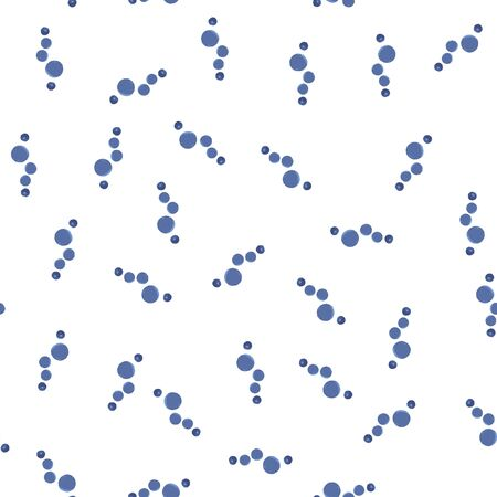 Abstract Pattern Seamless figure are blue color. For your design. Vector. Illustration