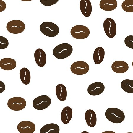 Random coffee texture pattern. Perfect for your design. Vector.