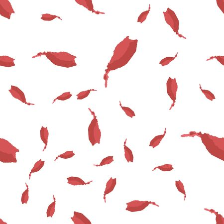 Seamless vector abstract pattern brush strokes is red color. Perfect for your design.