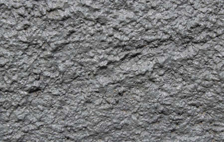 asbestos: Texture of a wall from wavy concrete with drops Stock Photo