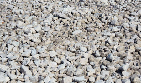 asbestos: Fine white stones for textures and a background Stock Photo