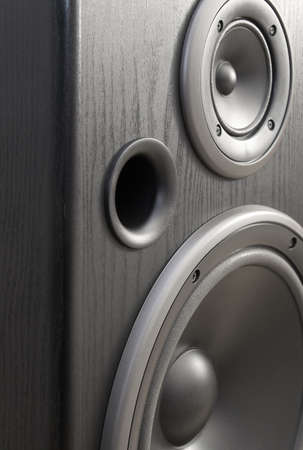dolby: Acoustic close-up Stock Photo