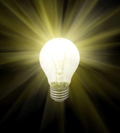 Lighted bulb Stock Photo - 4493609