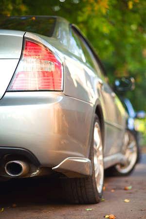Car rear view photo