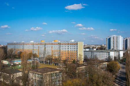 apartment blocks: Apartment blocks Editorial