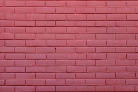 pink brick wall photo