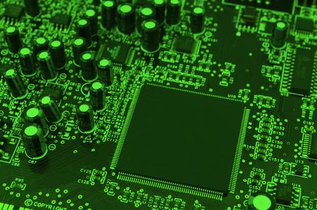 componentes: Placa de componentes electr�nicos