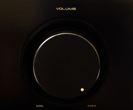 Volume rotary button - Maximum Volume photo