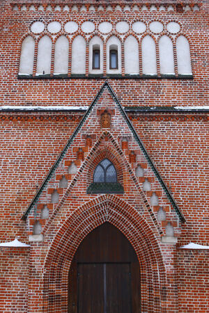 St  John s church from 13th century in Tartu, Estonia   photo