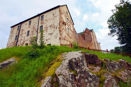 sund: A Swedish-built medieval castle in Sund, Aland.