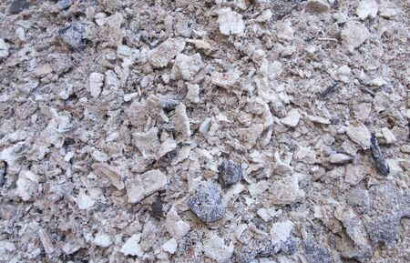 Closeup of wood ash surface, background.