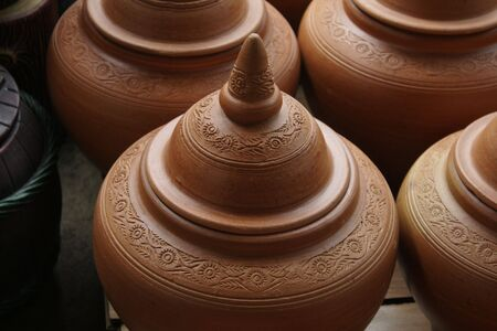 Pottery in Thailand Stock Photo - 7734073
