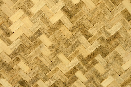 Wicker Woven Texture Background Stock Photo - 9384376