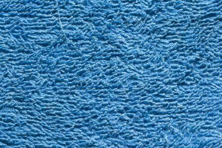 blue towel background Stock Photo
