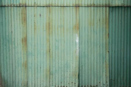 old galvanized steel  photo