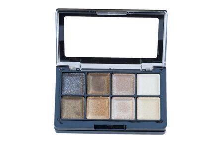 Makeup set, make-up eye shadows photo