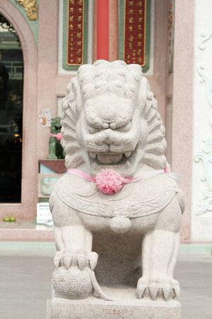 Lion in chinese style  photo