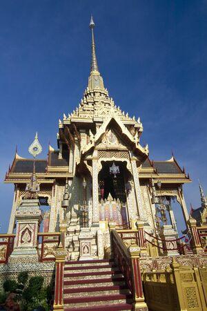 BANGKOK, THAILAND - APRIL 14  The Royal Cremation Ceremony of Prince Bejaratana Rajasuda Sirisobhabannavadi  Members of the Sanam Luang, Bangkok, Thailand  April 14, 2012  Stock Photo - 13226319