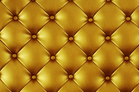 Luxury texture of light gold leather photo