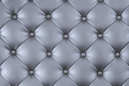 Luxury texture of light silver leather Stock Photo