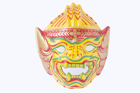 Native Thai style mask, Khon plastic toy photo