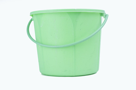 cistern: plastic cistern Stock Photo