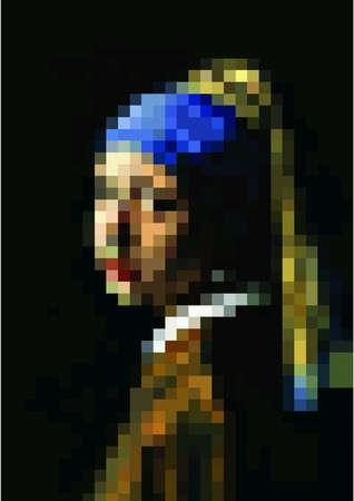 artwork: Pixel of art