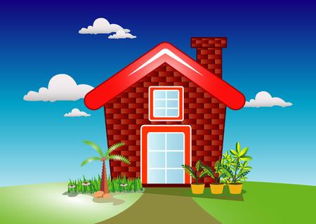 Home and Garden Ilustração