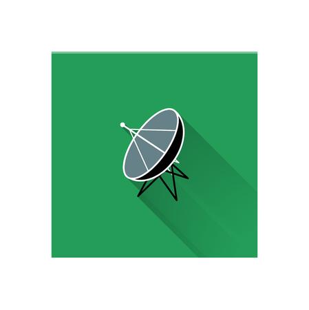airwaves: Satlelite Dish (LongShadow)