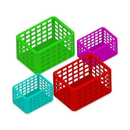 Basket Shopping Vector