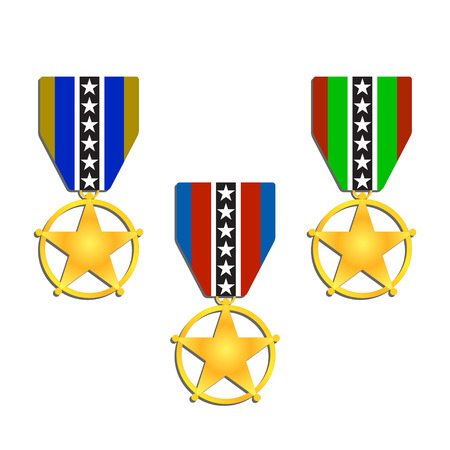 Award Medal Vector