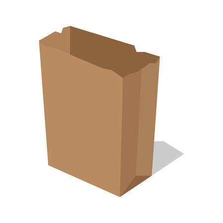 unprinted: Bolsa de papel