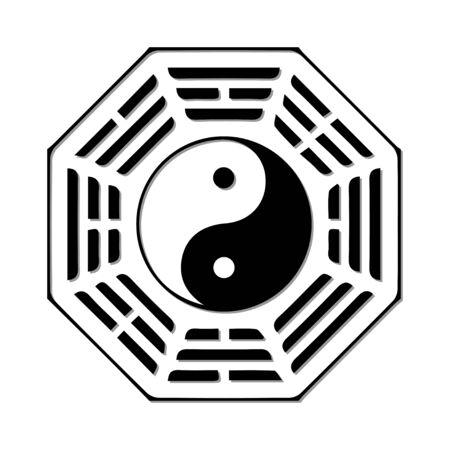 fengshui: YinYang Illustration