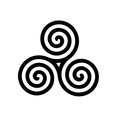 Spiraal symbool Stockfoto - 32481667
