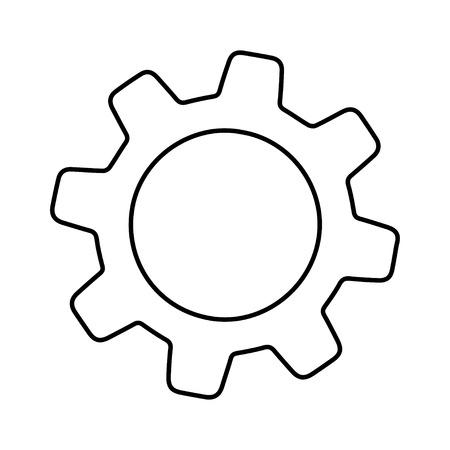 Gear  Ilustración de vector