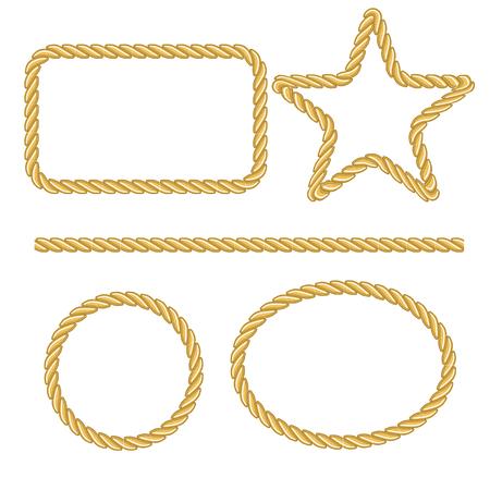 marcos redondos: Cuerda Vectores