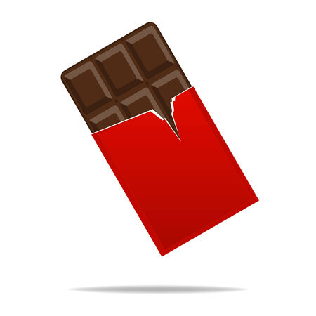 Chocolate ,Flat style Vector
