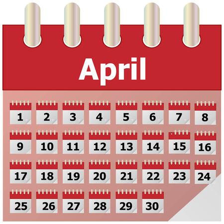 calend�rio: Calendário Ilustra��o