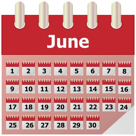thursday: Calendar Illustration