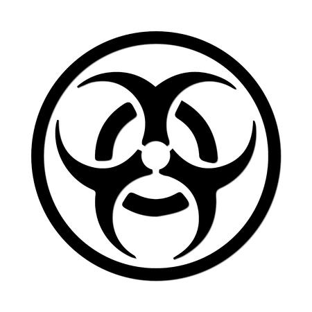biological warfare: Biohazard Symbol