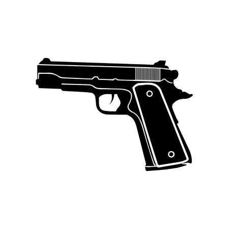GUN  イラスト・ベクター素材