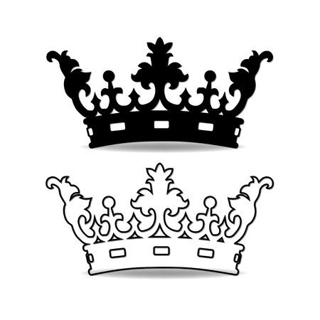 Crown  イラスト・ベクター素材