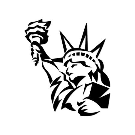 Statue of Liberty  Vektorgrafik