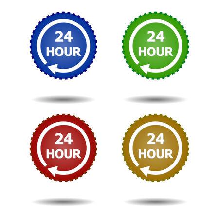 24 hr: 24 HR ICON