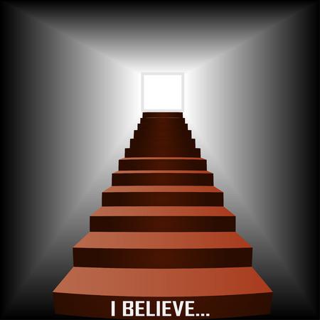 believe: I BELIEVE Illustration