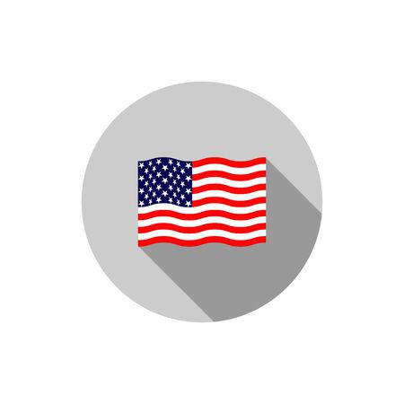 estados unidos bandera: Nosotros indicador Vectores