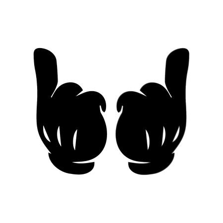 mano cartoon: Hand Cartoon