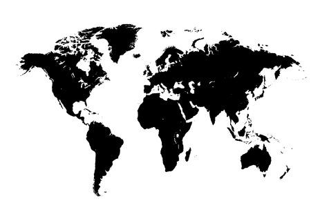 Mappa del Mondo Archivio Fotografico - 35293224