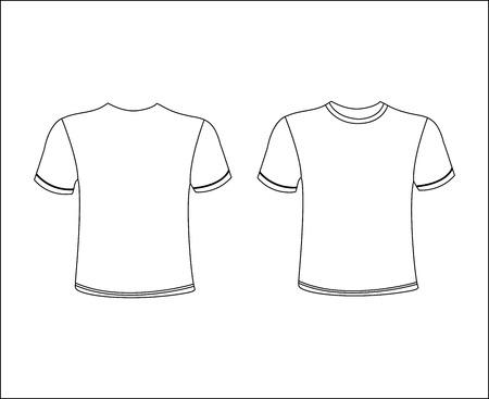 tshirt template: T-Shirt