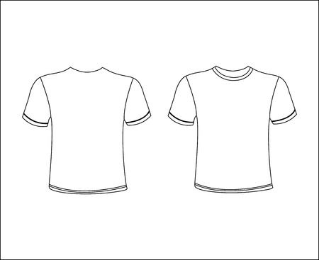 blank t shirt: T-Shirt